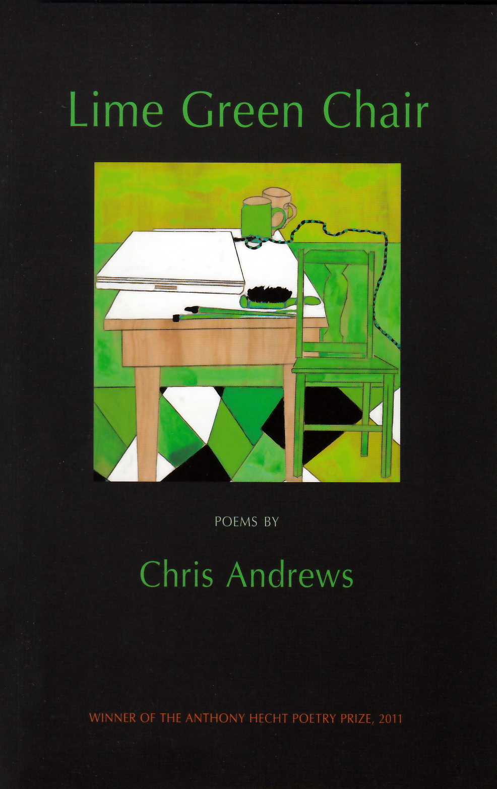 Lime Green Chair Andrews Cover