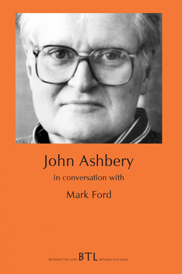 Ashbery in Conversation with Ford (BTL) Cover